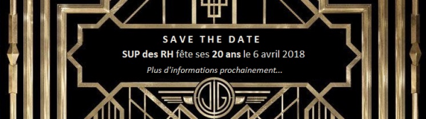 Save the date le 06 avril 2018